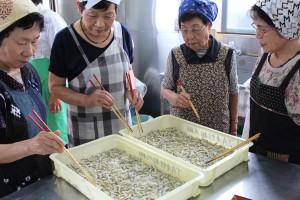 川棚女性部夏野菜料理 (2)