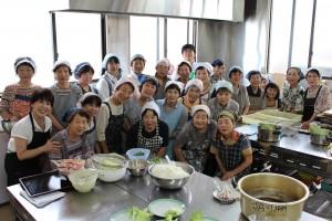 川棚女性部夏野菜料理 (1)