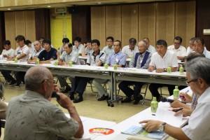 繁殖牛部会と肥育農家との意見交換会