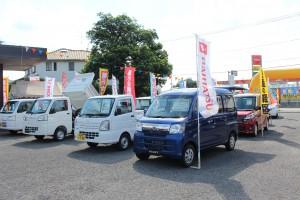 自動車の展示販売