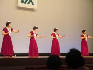 五反田地区によるフラダンス
